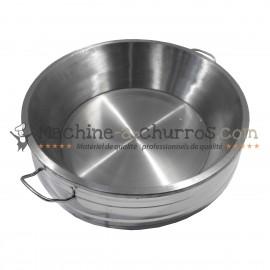 Bac friture à churros en Inox 14 Litres - Acier inoxydable 18/8
